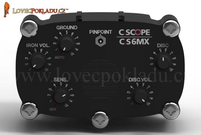 Box detektoru kovů C.Scope CS6MXi