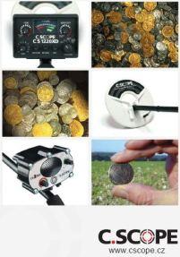 Detektory kovů C.Scope