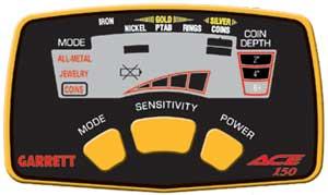 Garrett Ace-150 ovládací box detektoru kovů Ace 150