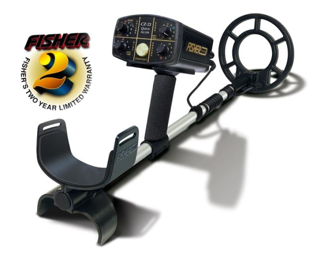 Detektor kovů Fisher CZ 21