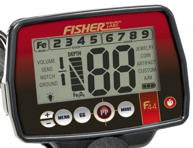 Detektory kovů Fisher Fisher F44 (F22) test od Pavla Diviše