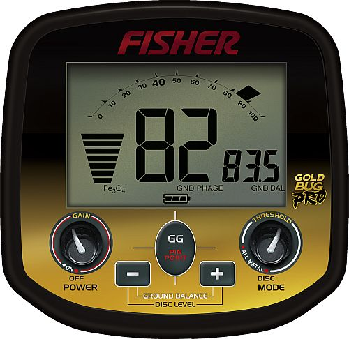 Detektor kovu Fisher Gold Bug Pro DP box elektroniky