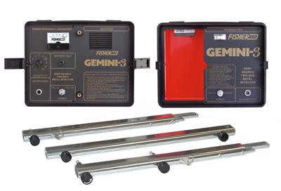 Detektor kovů Fisher gemini 3