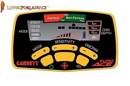 Detektor kovů Garrett EuroAce box