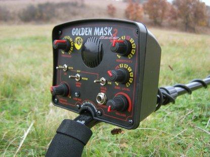 Detektor kovů Golden mask 2 - box