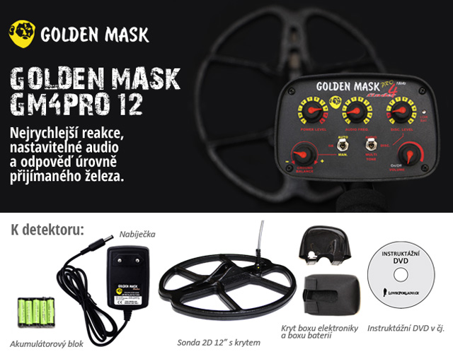 Detektor kovů Golden Mask GM4