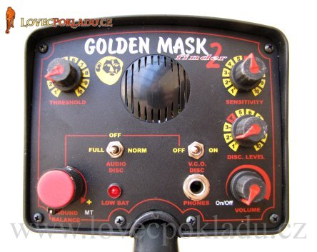 Detektor kovů Golden mask GM2