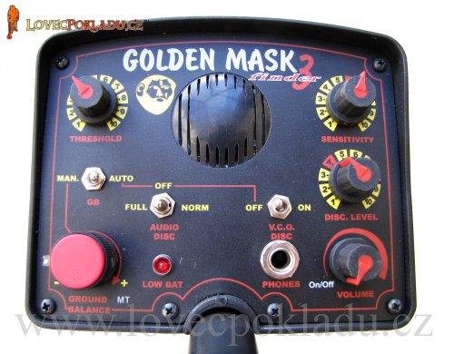 Detektor kovů Golden mask 2 - box elektroniky