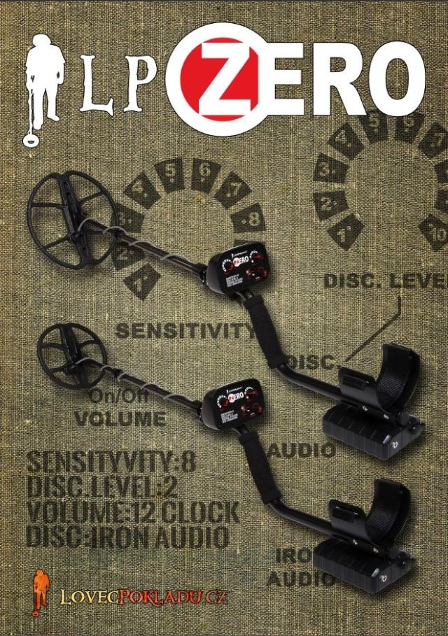 katalog detektoru kovů LP ZERO