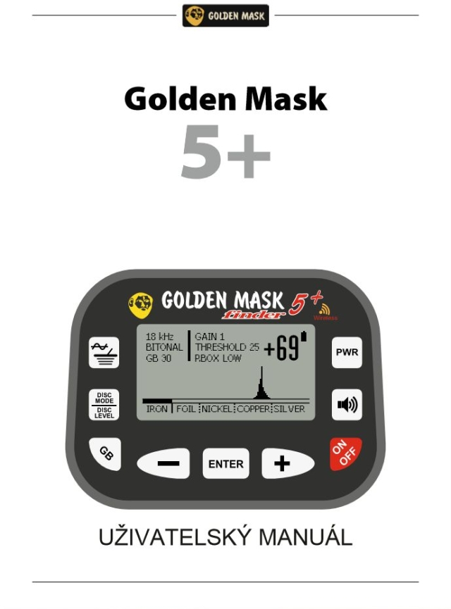 Golden Mask GM5+ instruktažní manuál