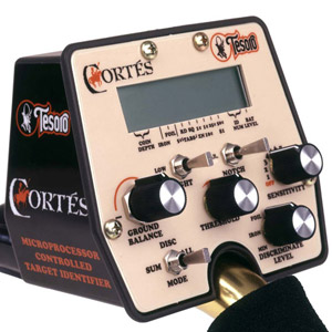 Detektor kovů Tesoro Cortes - box elektroniky