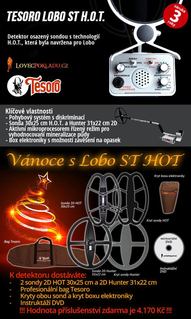 Detektor kovů Tesoro Lobo ST