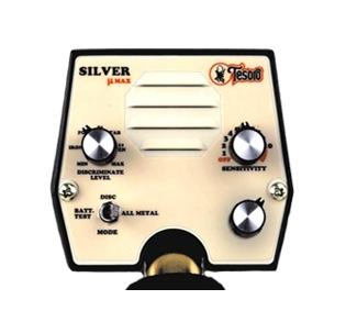 detektor kovů Tesoro Silver - ovládací box