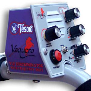 Detektor kovů Tesoro Vaquero - box elektroniky