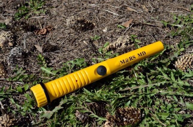 Mars MD Pinpointer - žlutý.