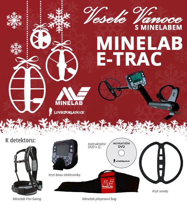 Detektor kovů Minelab E-Trac
