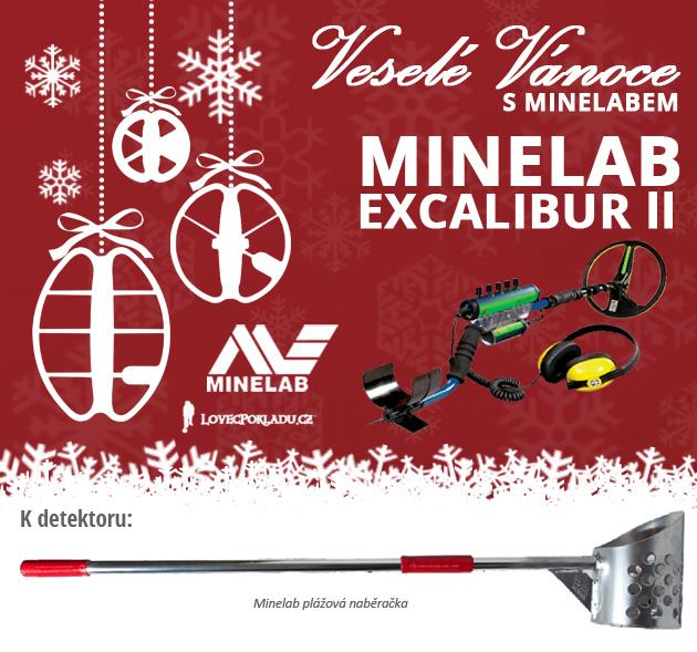 Detektor kovů Minelab Excalibur