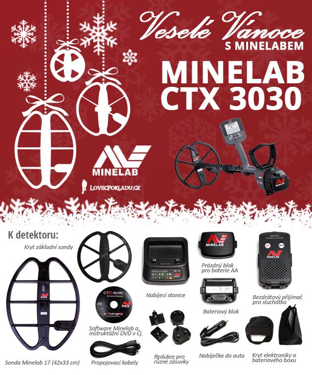 Detektor kovů Minelab CTX 3030
