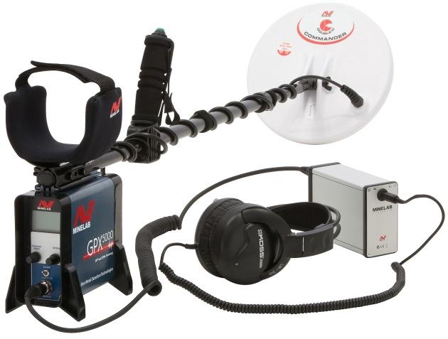 Detektor kovů Minelab GPX 5000