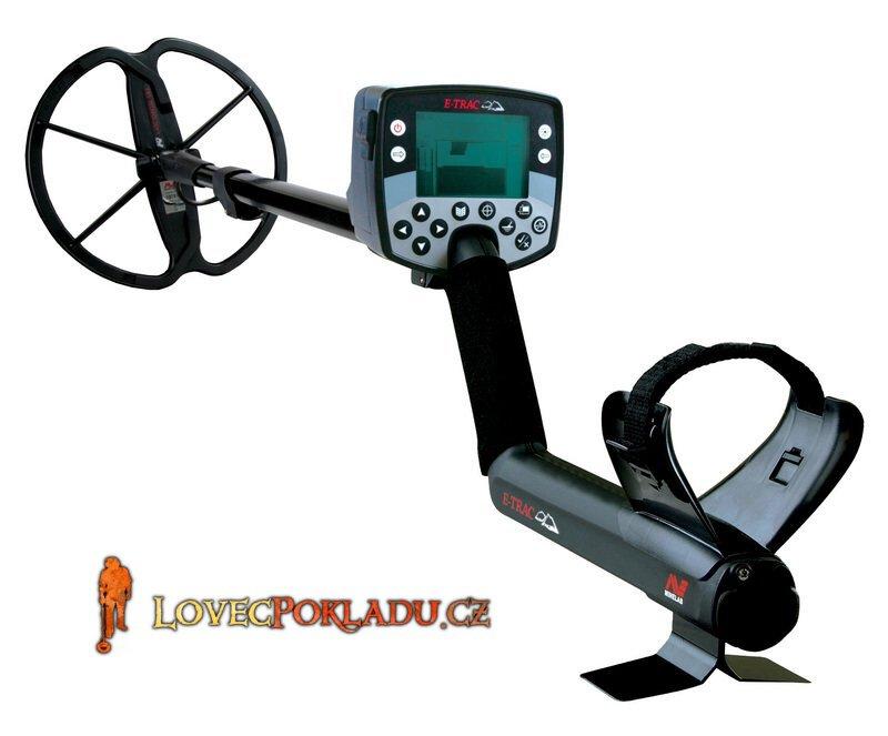 Detektor kovu Minelab E-TRAC