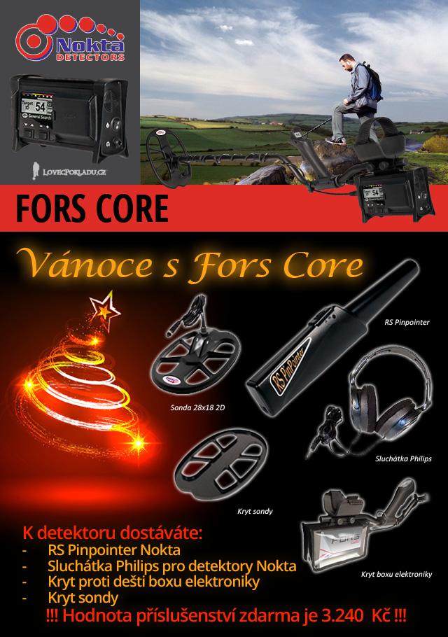 Detektor kovů Nokta Fors CoRe