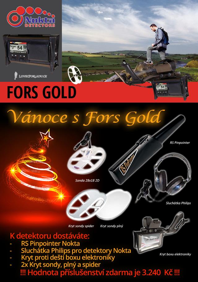 Detektro kovů Nokta Fors Gold