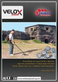 Instruktážní video pro detektor kovů Nokta Velox One