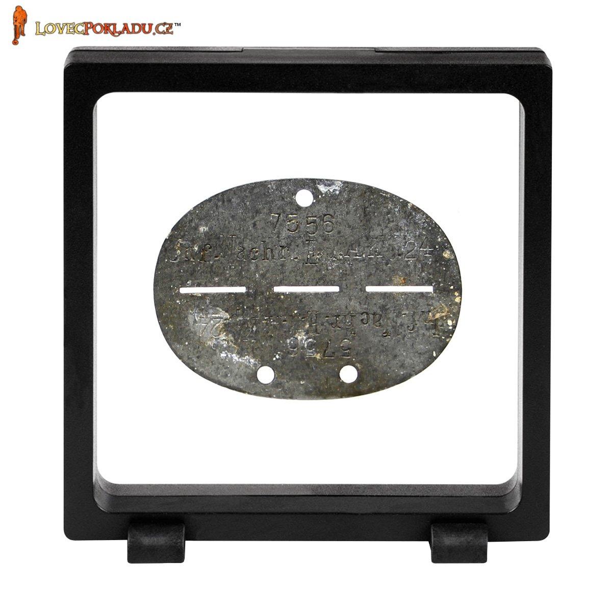 Prezentační rámeček 11x11cm černý - Tolar