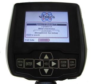 Detektor kovů Whites Spectra V3