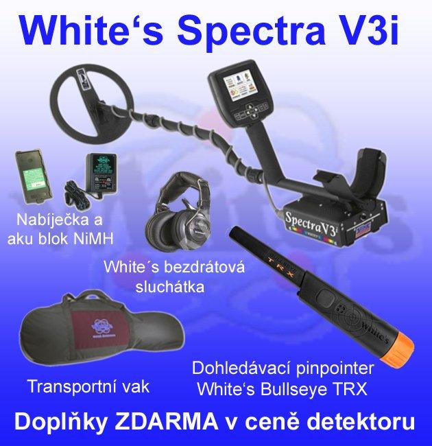 Detektor kovů Whites Spectra V3i